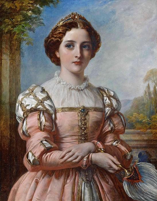 Beatrice. Thomas Francis Dicksee