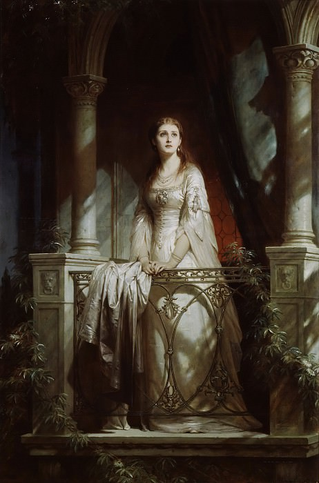 Juliet. Thomas Francis Dicksee