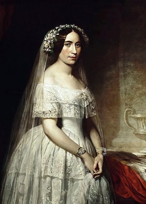 The bride. Thomas Francis Dicksee