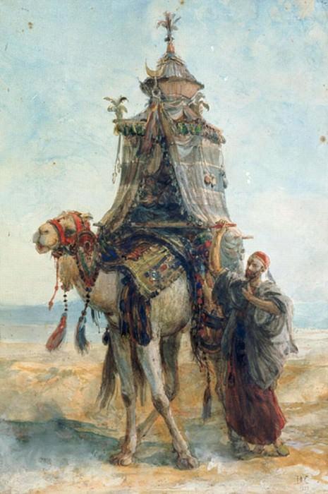 The Desert Ride. Alexandre-Gabriel Decamps