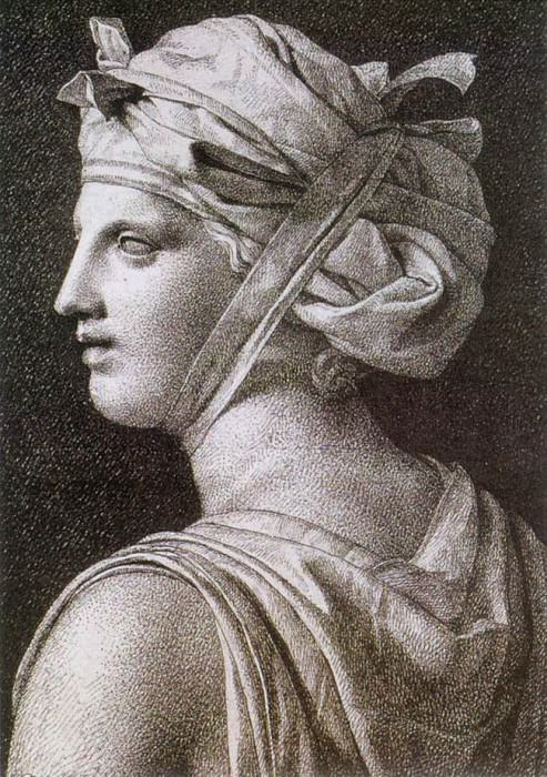Woman in a Turban. Jacques-Louis David