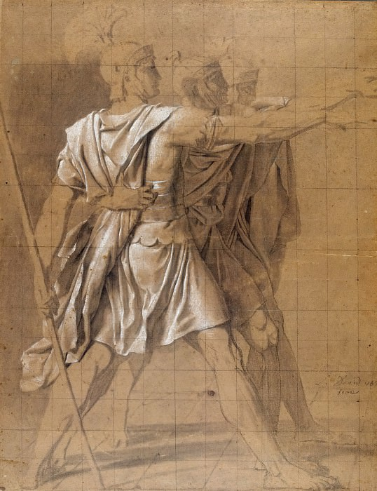 The Three Horatii Brothers. Jacques-Louis David