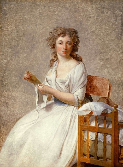 Portrait of Madame Adelaide Pastoret. Jacques-Louis David