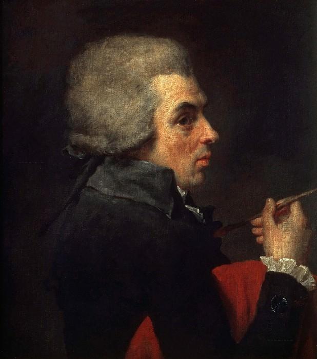 Self-portrait. Jacques-Louis David