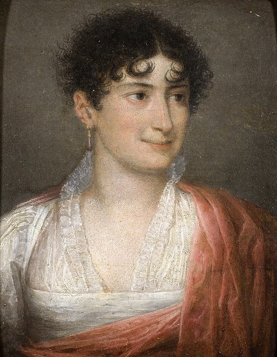 portrait de Madame Claire de Corte. Jacques-Louis David