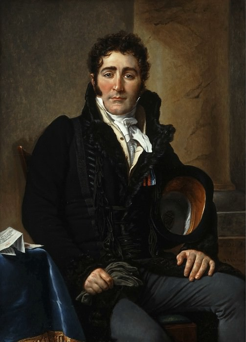 Portrait of the Comte de Turenne. Jacques-Louis David