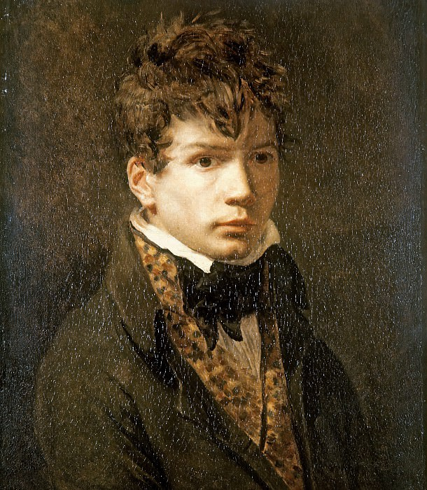 Jean-Auguste-Dominique Ingres. Jacques-Louis David
