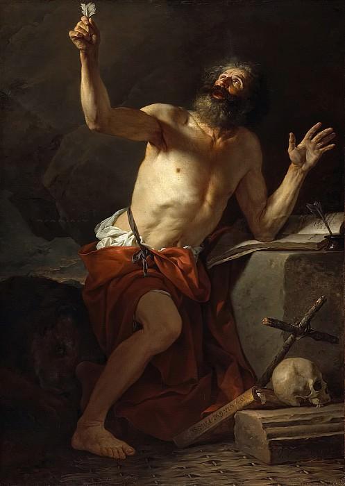 St. Jerome. Jacques-Louis David