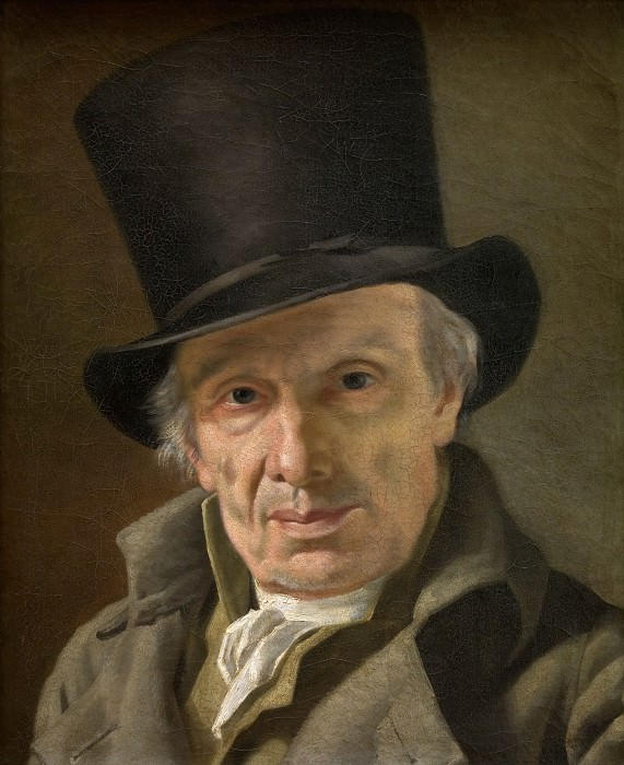 Man in a Hat. Jacques-Louis David