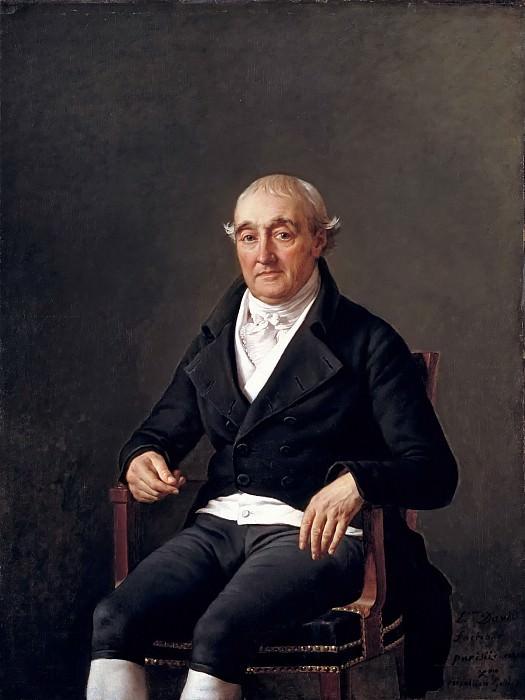 Portrait of Cooper Penrose. Jacques-Louis David