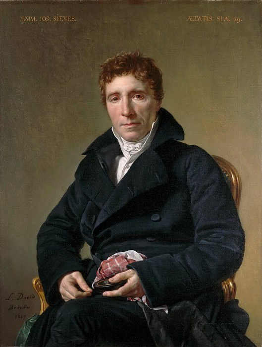 Emmanuel Joseph Sieyes (1748-1836). Jacques-Louis David