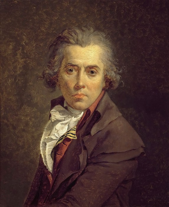 Self-portrait. Jacques-Louis David