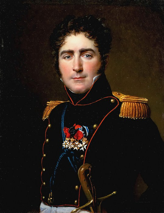 Count Henri-Amedee de Turenne. Jacques-Louis David