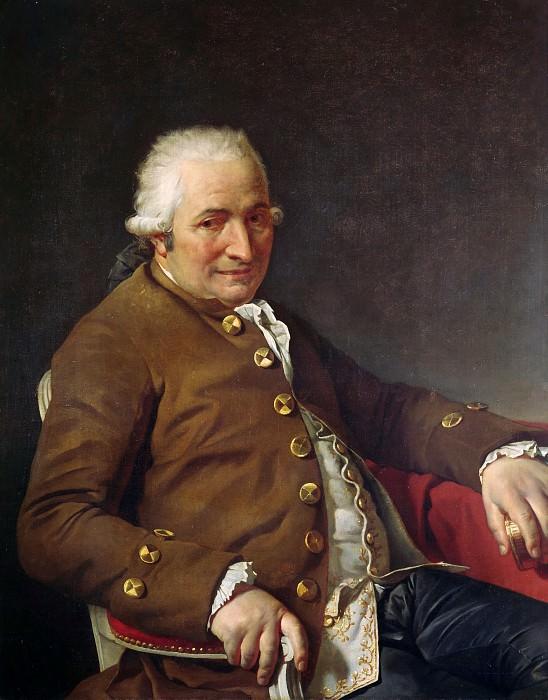 Charles-Pierre Pecoul. Jacques-Louis David