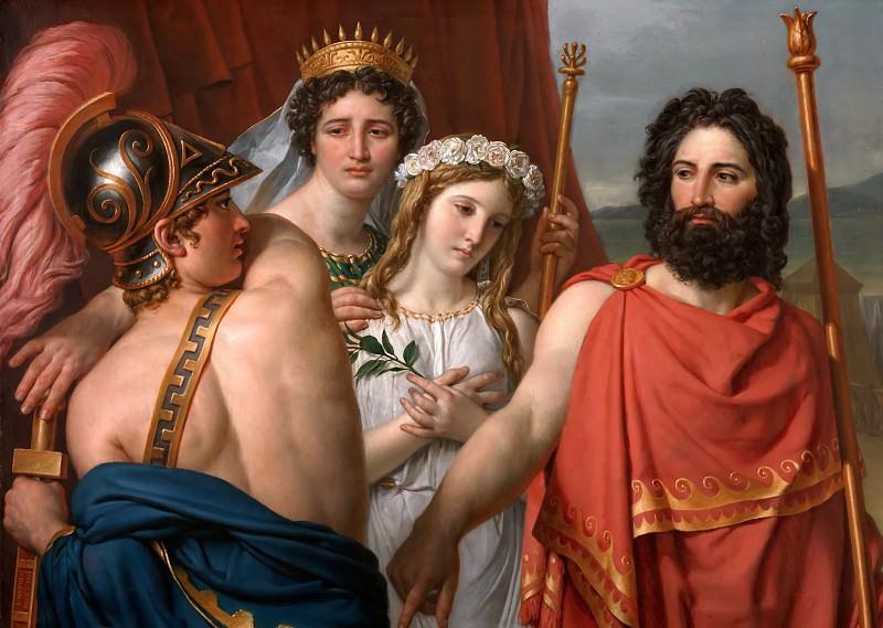 The Anger of Achilles. Jacques-Louis David