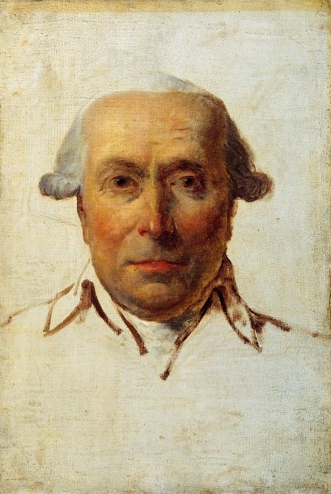 Filippo Mazzei (Mazzei was the agent of the King of Poland in Paris). Jacques-Louis David
