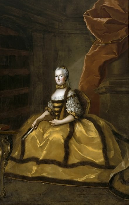 Луиза-Мария Французская. Франсуа-Юбер Друэ