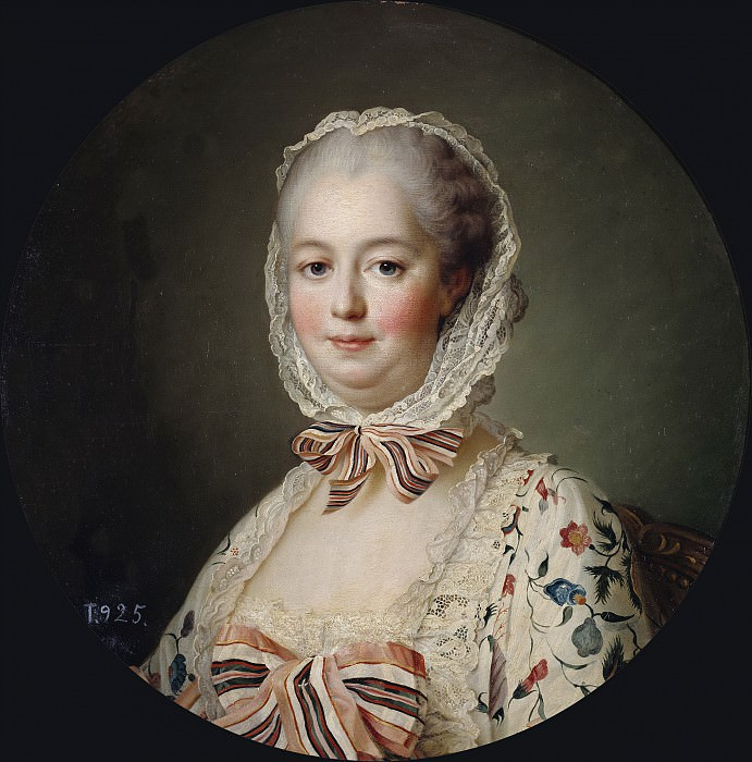 Мадам де Помпадур. Франсуа-Юбер Друэ