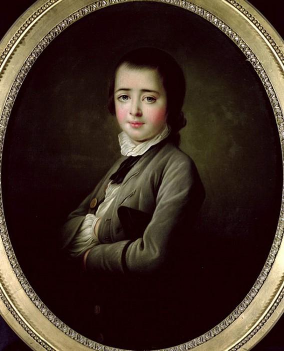 Henry Edward Fox (1755-1811). Francois-Hubert Drouais