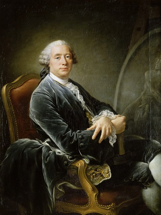 Guillaume II Coustou (1716-1777). Francois-Hubert Drouais