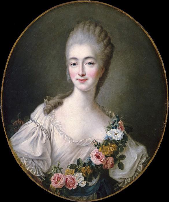 Comtesse du Barry. Francois-Hubert Drouais