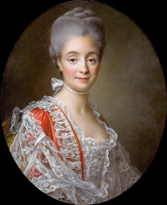 Мадам Жак-Бенуа Луа, в девичестве Мари Комб. Франсуа-Юбер Друэ