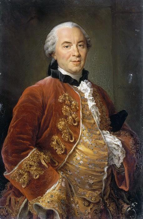 Georges-Louis Leclerc, comte de Buffon (1707-1788). Francois-Hubert Drouais