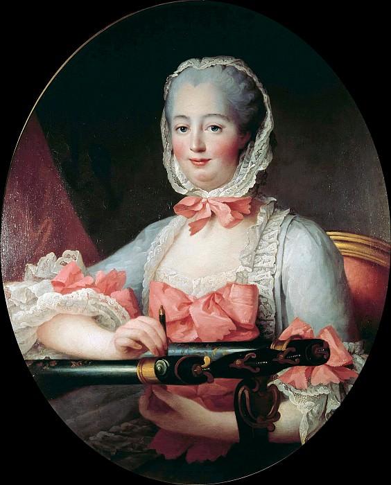 Madame de Pompadour (1721-1764). Francois-Hubert Drouais