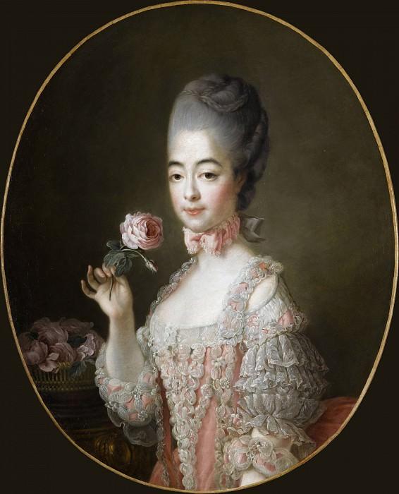 Marie-Josephine-Louise de Savoie (1753-1810), Comtesse de Provence. Francois-Hubert Drouais