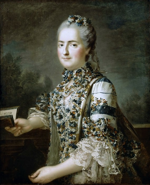 Louise-Marie de France. Francois-Hubert Drouais