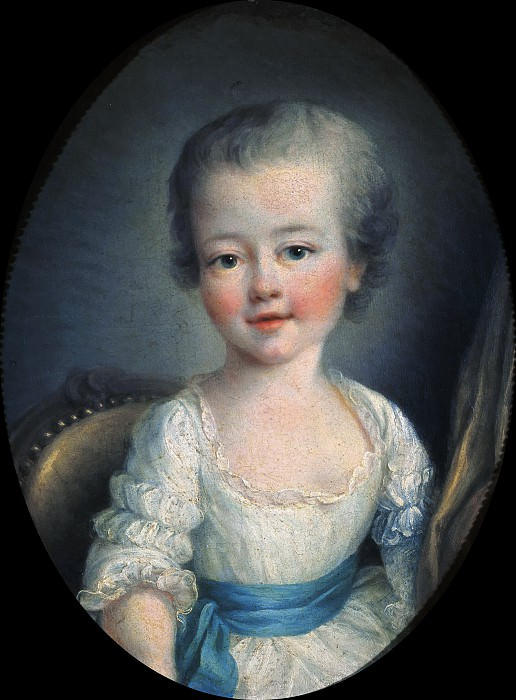 Portrait of Alexandrine Lenormant d'Etoiles. Francois-Hubert Drouais