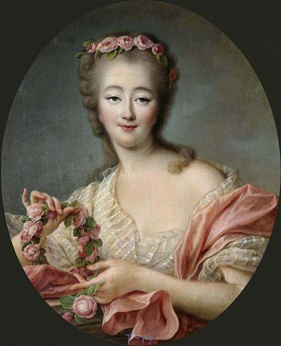 Madame du Barry. Francois-Hubert Drouais