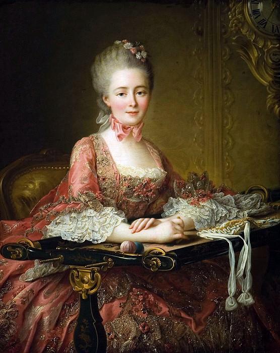 Marquise de Caumont La Force. Francois-Hubert Drouais