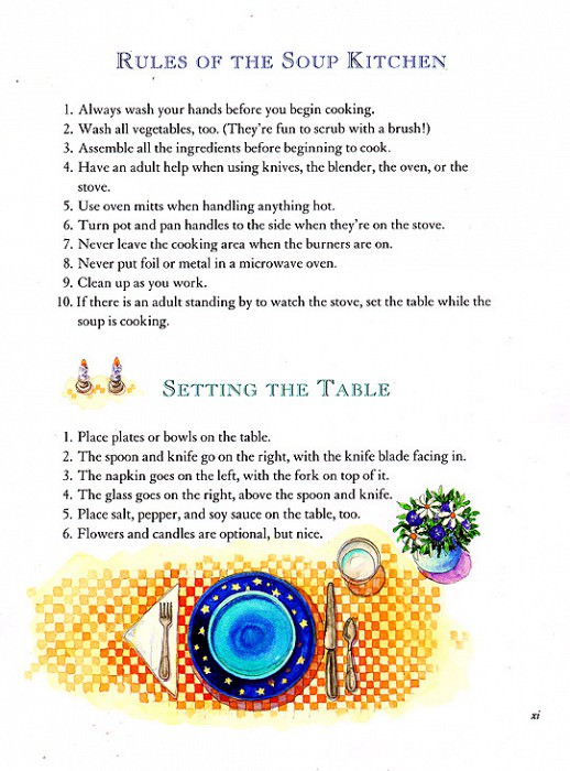 Blue Moon Soup Rules of the Soup Kitchen. Jane Dyer