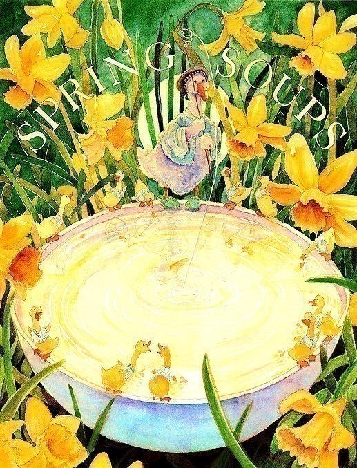 Суп голубой Луны - Весенний суп. Джейн Дайер