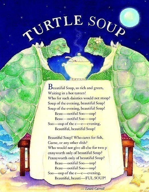 Blue Moon Soup Turtle Soup. Jane Dyer