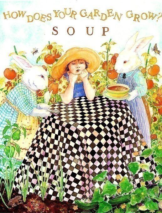 Суп голубой Луны - Как твой садик выращивает суп?. Джейн Дайер