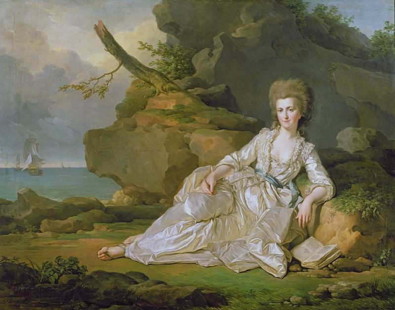 Louise-Adelaide de Bourbon-Penthievre (1753-1821) Duchess of Chartres. Joseph Siffred Duplessis