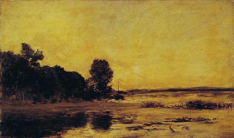 У моря. Шарль-Франсуа Добиньи