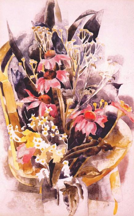 african daisies 1925. Charles Demuth