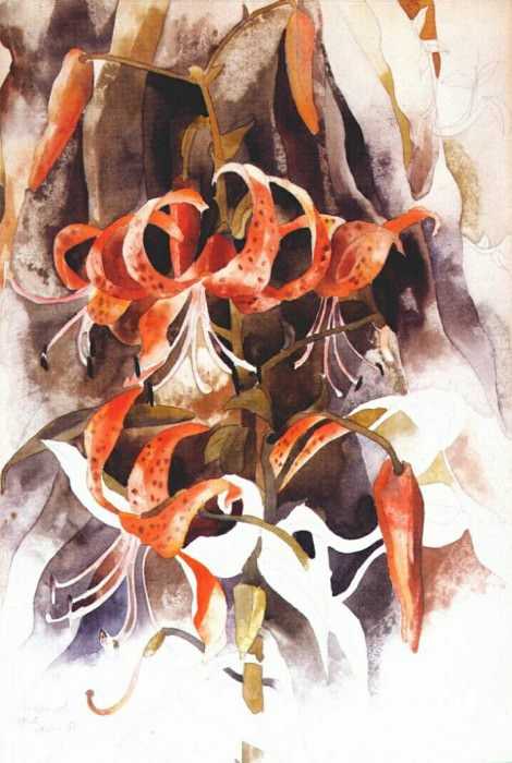 tiger lilies 1920. Charles Demuth