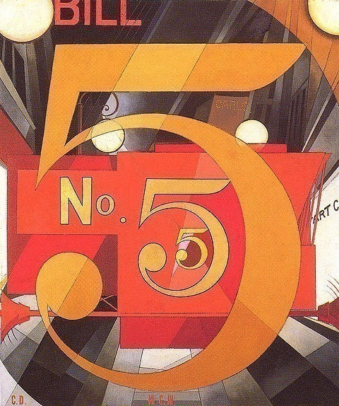 I Saw The Figure5 In Gold. Charles Demuth