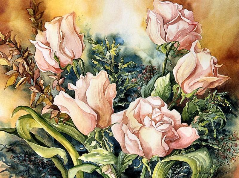 Roses de Picardie. Lorraine Piquette-Dietrich