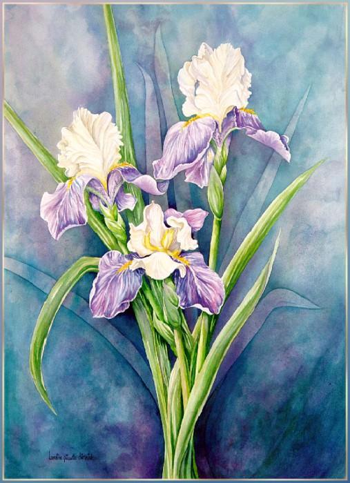St. Josephs Irises. Lorraine Piquette-Dietrich