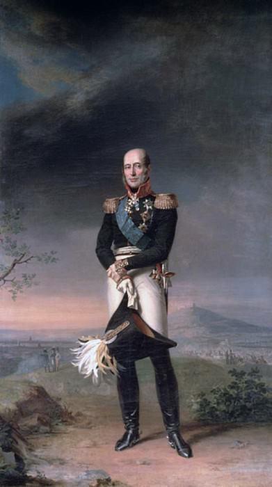 Portrait of Prince Mikhail Barclay de Tolly (1761-1818). George Dawe