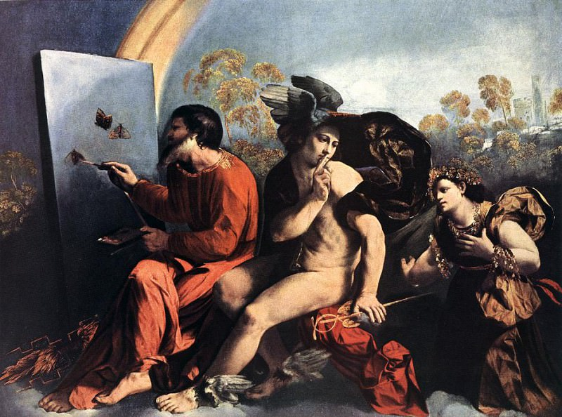 Jupiter Mercury and the Virtue. Dosso Dossi
