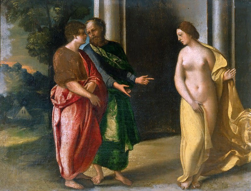 Gyges and King Candaules. Dosso Dossi