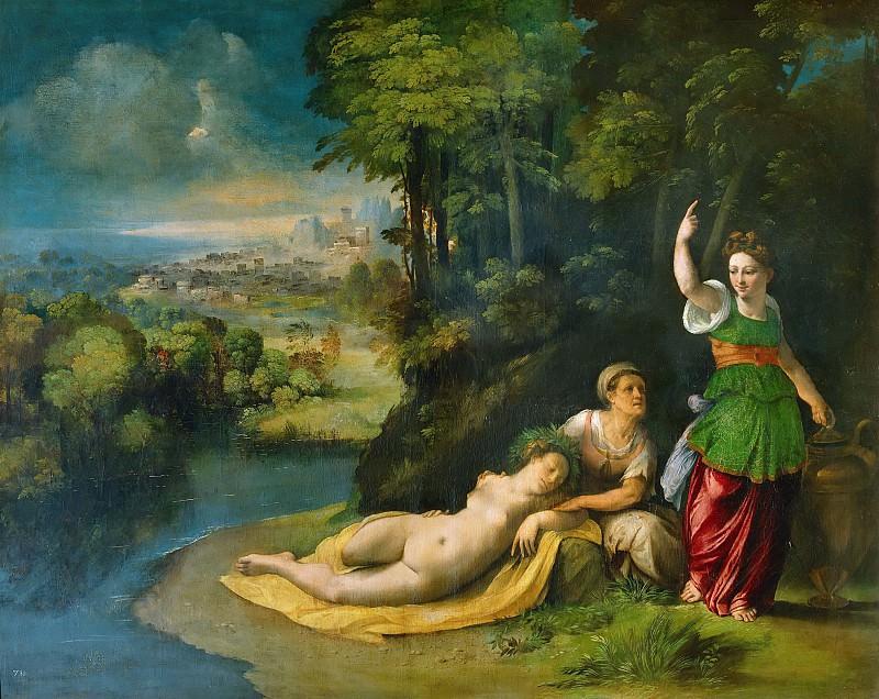 Diana and Callisto. Dosso Dossi