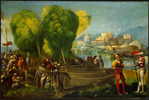 Aeneas and Achates on the Libyan Coast. Dosso Dossi