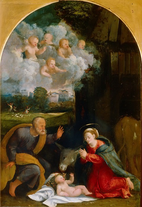 Nativity (workshop). Dosso Dossi